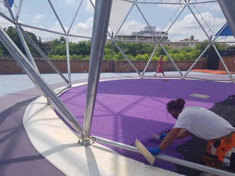 Marmo-Drain-Antitrauma-parco giochi