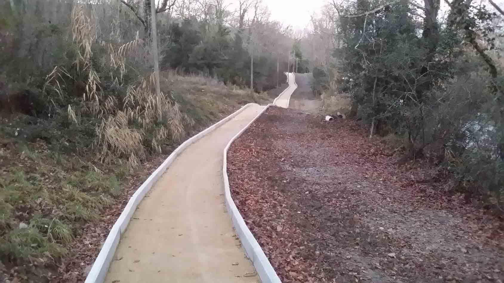 drena-tce pista ciclabile